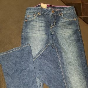 Levis Skinny Flare electric sky